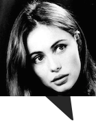 A nice French person who looked a lot like Emanuelle Béart